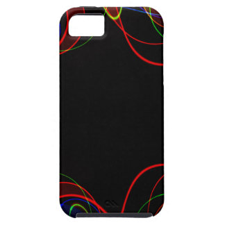 Capas Para iPhone 5 Fractal #2 do arco-íris