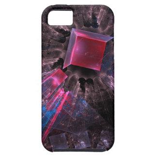 Capas Para iPhone 5 Fractal cor-de-rosa