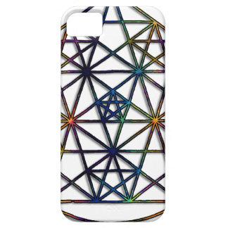 Capas Para iPhone 5 Fractal sagrado da geometria da abundância da vida