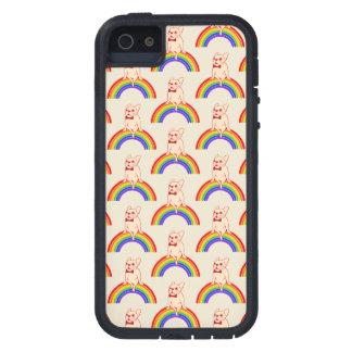Capas Para iPhone 5 Frenchie comemora o mês do orgulho no arco-íris de