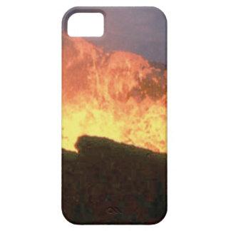 Capas Para iPhone 5 fulgor do fogo vulcânico