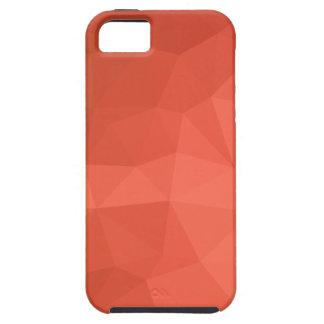 Capas Para iPhone 5 Fundo do polígono do abstrato claro dos salmões