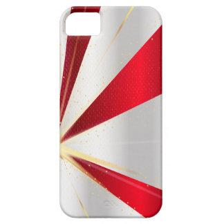 Capas Para iPhone 5 Fundo vermelho e de prata