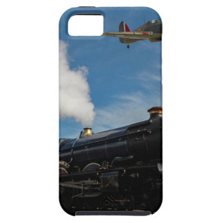 Capas Para iPhone 5 Furacões e trem do vapor