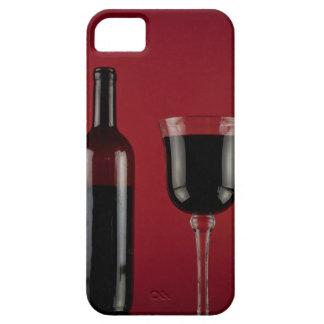Capas Para iPhone 5 Garrafa de vidro de vermelho de vinho