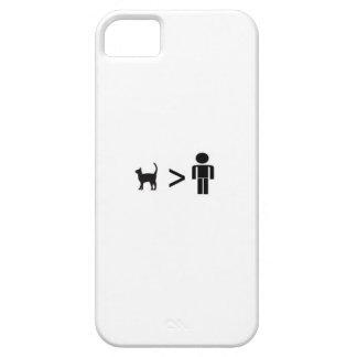 Capas Para iPhone 5 Gatos sobre pessoas do caso