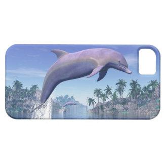 Capas Para iPhone 5 Golfinho nos trópicos - 3D rendem