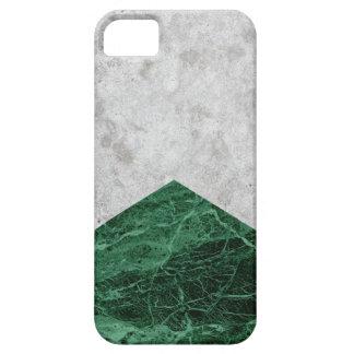 Capas Para iPhone 5 Granito concreto #412 do verde da seta
