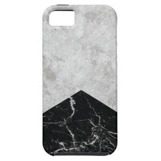Capas Para iPhone 5 Granito concreto #844 do preto da seta