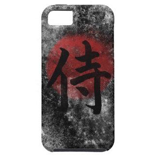 Capas Para iPhone 5 Grunge 2 do samurai do Kanji