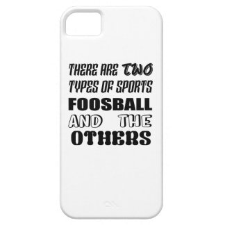 Capas Para iPhone 5 Há dois tipos de esportes Foosball e outro