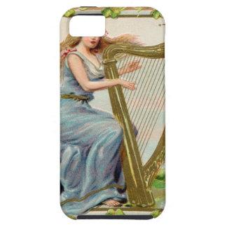 Capas Para iPhone 5 Harpa & senhora originais do dia de patrick de