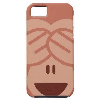 Capas Para iPhone 5 Hide and seek Emoji Monkey