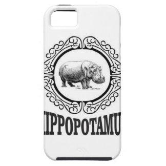 Capas Para iPhone 5 Hipopótamo quadro