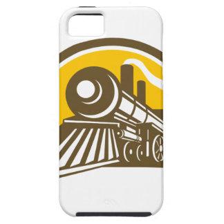 Capas Para iPhone 5 Ícone do trem da locomotiva de vapor