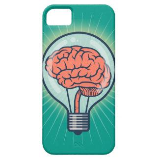 Capas Para iPhone 5 Ilustração Brainy da ampola