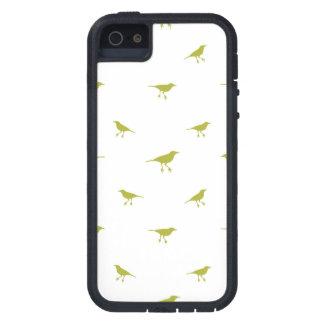 Capas Para iPhone 5 Impressão da silhueta dos pássaros