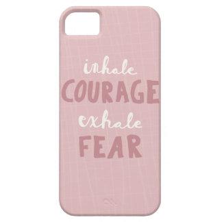 Capas Para iPhone 5 Inale a coragem expiram o medo
