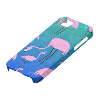 Capas Para iPhone 5 Lagoa do flamingo