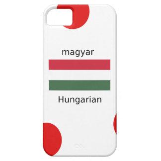 Capas Para iPhone 5 Língua de Hungria e design da bandeira
