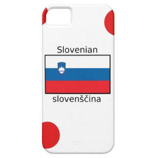 Capas Para iPhone 5 Língua e design eslovenos da bandeira de Slovenia