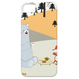 Capas Para iPhone 5 Lobo bonito da raposa do verão do primavera do