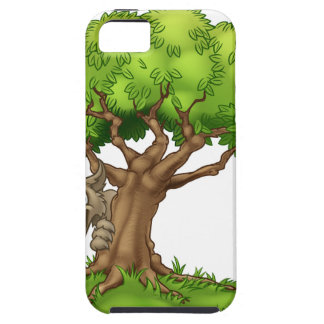 Capas Para iPhone 5 Lobo e árvore maus grandes do conto de fadas dos