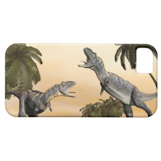 Capas Para iPhone 5 Luta dos dinossauros do Aucasaurus - 3D rendem