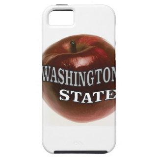 Capas Para iPhone 5 Maçã do vermelho do estado de Washington
