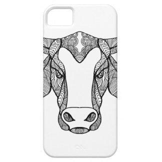 Capas Para iPhone 5 Mandala principal de Brahma Bull