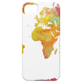 Capas Para iPhone 5 mapa do mundo