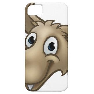 Capas Para iPhone 5 Mascote do caráter do lobo dos desenhos animados