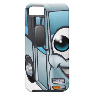 Capas Para iPhone 5 Mascote do personagem de desenho animado do ônibus
