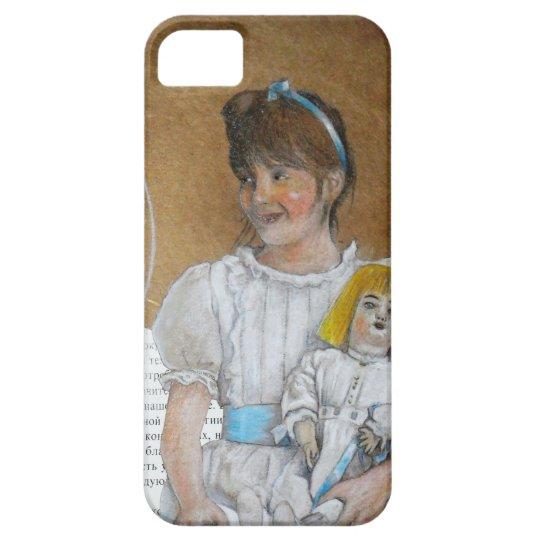Capas Para iPhone 5 menina com boneca rêtro