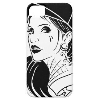 Capas Para iPhone 5 Menina do gângster