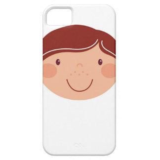 Capas Para iPhone 5 Menina no branco