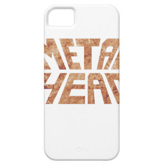 Capas Para iPhone 5 MetalHead oxidado