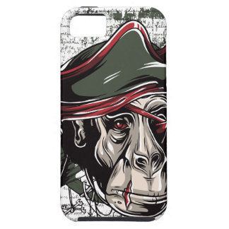 Capas Para iPhone 5 monkey o design bonito do pirata
