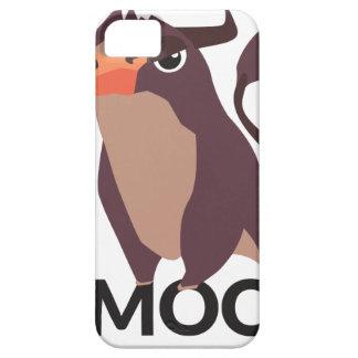 Capas Para iPhone 5 MOO, design médio da vaca