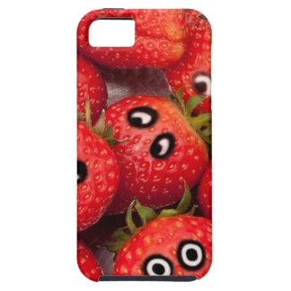 Capas Para iPhone 5 Morangos engraçadas