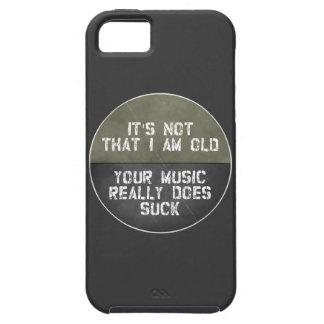 Capas Para iPhone 5 Não é que eu sou idoso sua música realmente sugo