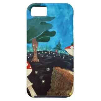 Capas Para iPhone 5 noite trippy nas madeiras
