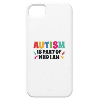 Capas Para iPhone 5 O autismo é parte de quem eu sou