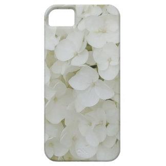 Capas Para iPhone 5 O Hydrangea floresce a flor elegante branca floral
