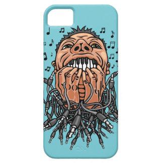Capas Para iPhone 5 o músico joga em seus dentes como no teclado
