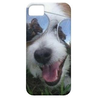Capas Para iPhone 5 Óculos de sol no FUTURO BRILHANTE do cão para MIM