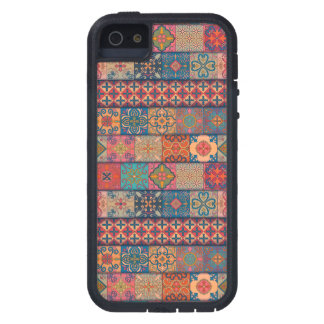 Capas Para iPhone 5 Ornamento de talavera do mosaico do vintage