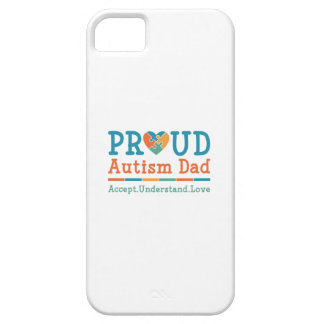 Capas Para iPhone 5 Pai orgulhoso do autismo