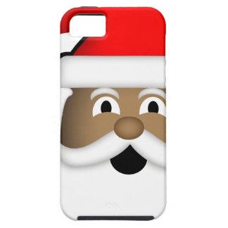 Capas Para iPhone 5 Papai noel preto alegre