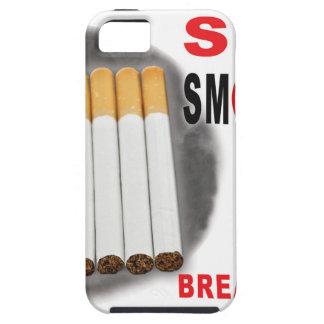Capas Para iPhone 5 Pare de fumar lembretes - não mais bumbuns